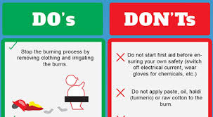 Do's and Dont's on Fire Safety